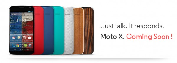 Moto X in India - Launching on Flipkart
