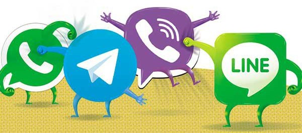 telegram-viber-whatsapp-line